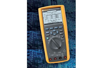 TRUE-RMS ELECTRONICS LOGGING MULTIMETER WITH TRENDCAPTURE
