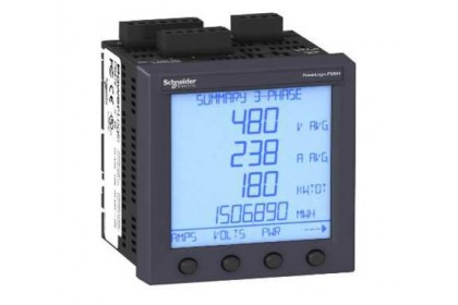 PM820MG POWER METER WITH HARMONICS ALARMING I/O 80 KB LOGGING