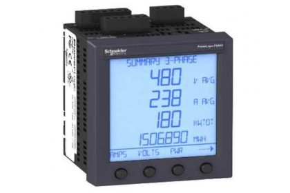 PM850MG POWER METER WITH HARMONICSALARMINGI/O800 KB LOGGING