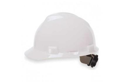 V-Gard Slotted Cap w/Fas-Trac Suspension White