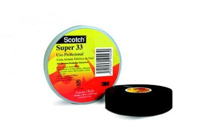 SCOTH 33 VINYL ELECTRICAL TAPE BLACK