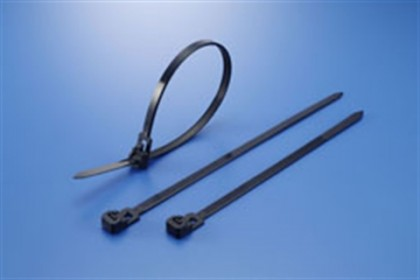 100 x 2.5MM CABLE TIE (BLACK)
