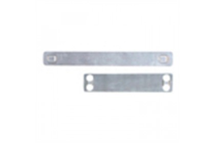88.9MM X 9.5MM STAINLESS STEEL MARKER PLATE