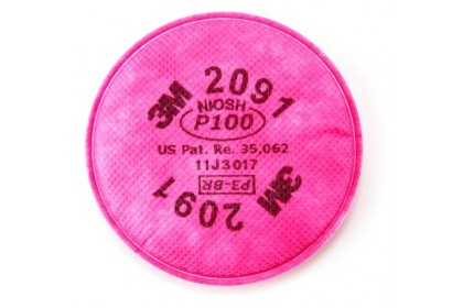 3M™ Particulate Filter 2091/07000(AAD), P100